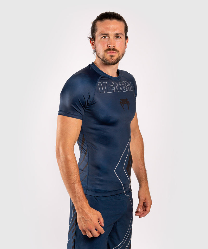 Venum Contender 5.0 Rashguard - Short sleeves - Navy/Sand picture 4