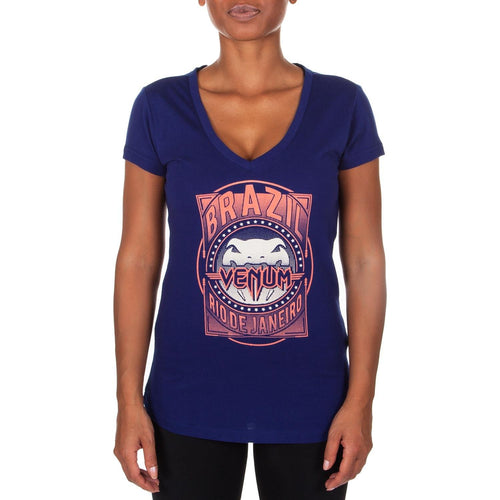 Venum Carioca Women T-Shirt - Navy blue picture 1