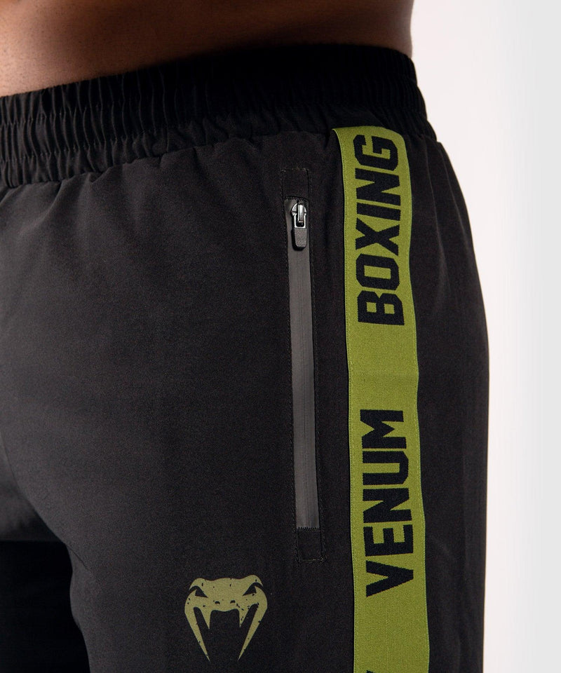 Venum Boxing Lab Fightshorts - Black/Green picture 5