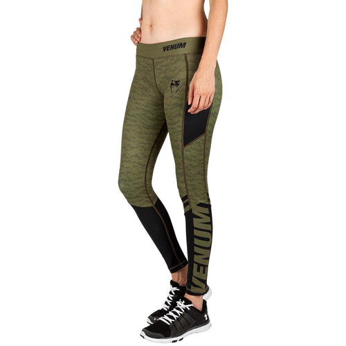 Venum Power 2.0 Leggings - For Women – Khaki/Black picture 1