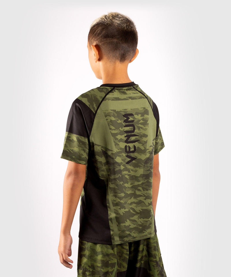 Venum Trooper Kids Dry-Tech T-shirt - Forest camo/Black picture 4
