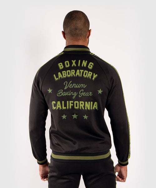 Venum Boxing Lab track jacket - Black/Green picture 2