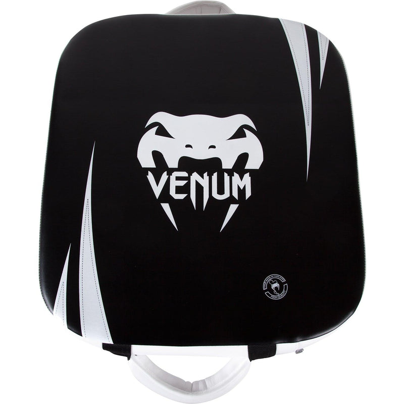 Venum Absolute Square Kick Shield - Skintex Leather - Black/Ice picture 1