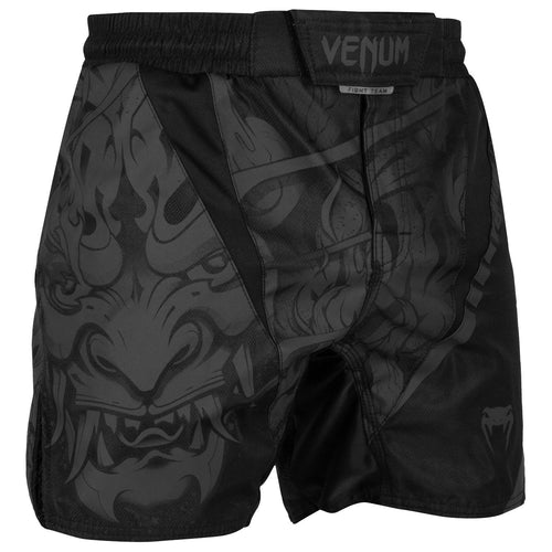 Venum Devil Fightshorts – Black/Black picture 1