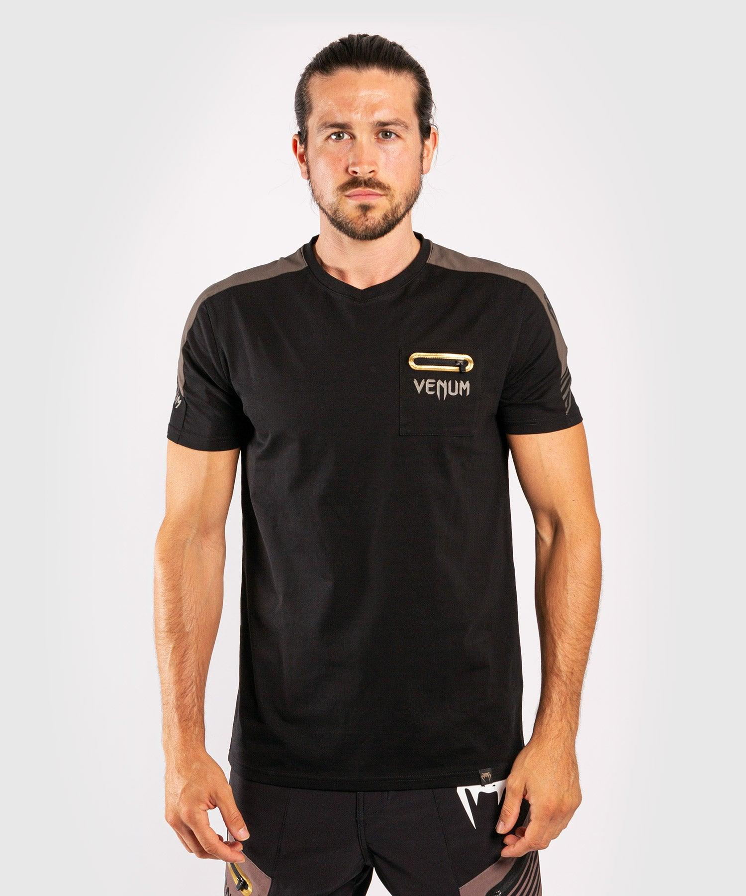Venum Cargo T-shirt - Black/Grey picture 1