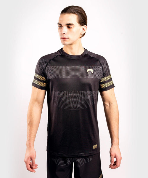 Venum Club 182 Dry Tech T-shirt – Black/Gold picture 1
