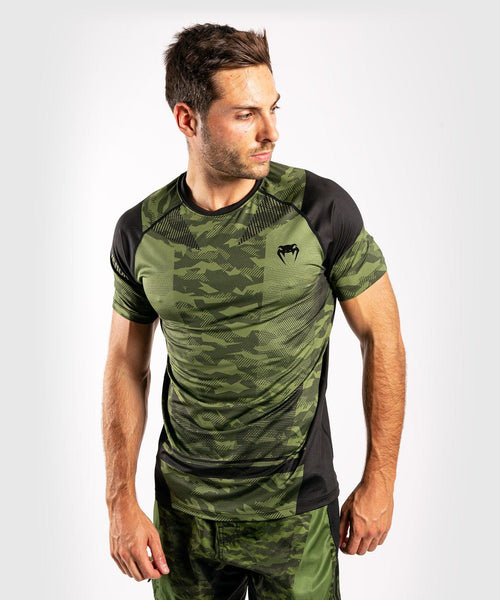Venum Trooper Dry-Tech  T-shirt - Forest camo/Black picture 1