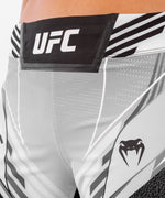 UFC Venum Authentic Fight Night Women's Shorts - Long Fit – White Picture 5