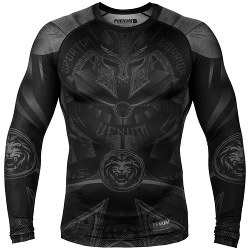 Venum Gladiator 3.0 Rashguard - Long Sleeves – Black/Black picture 1