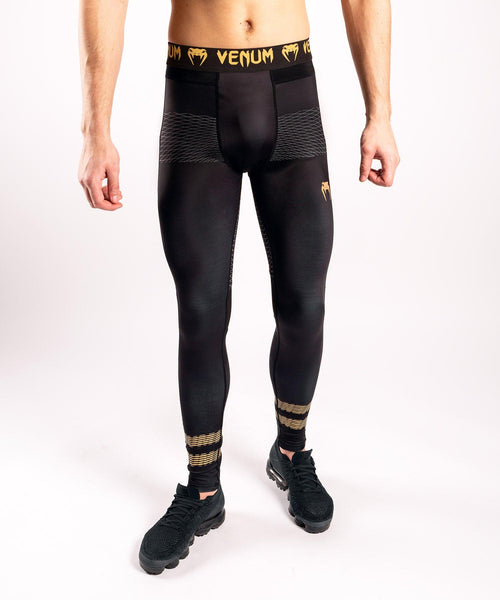 "Venum ""Club 182"" Spats – Black/Gold picture 1"