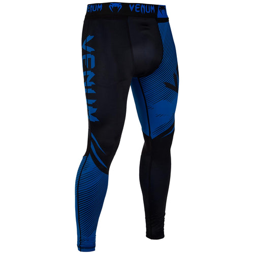 Venum NoGi 2.0 Spats – Black/Blue picture 2