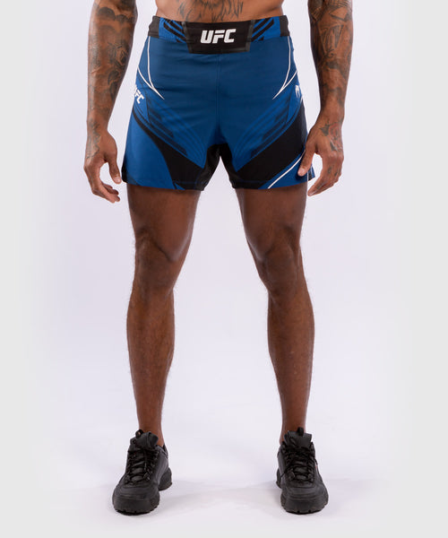 UFC Venum Authentic Fight Night Men's Shorts - Short Fit – Blue Picture 1