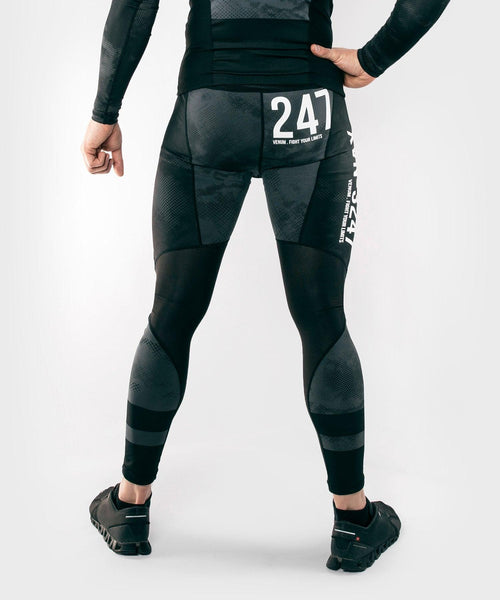 Venum Sky247 Spats – Black/Grey picture 2