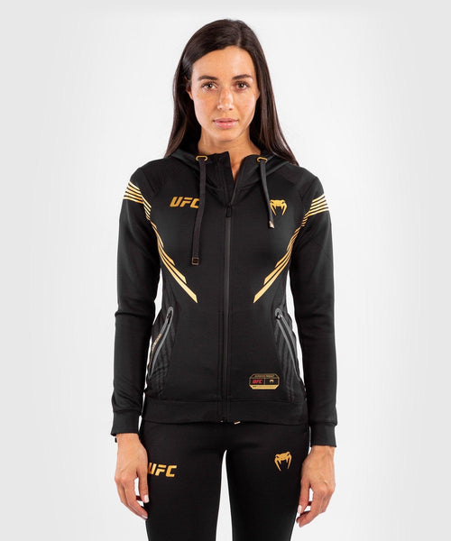 UFC Venum Personalized Authentic Fight Night Women's Walkout Hoodie - Champion picture 1