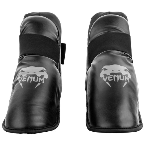 Venum Challenger Foot Gear – Black/Grey picture 1