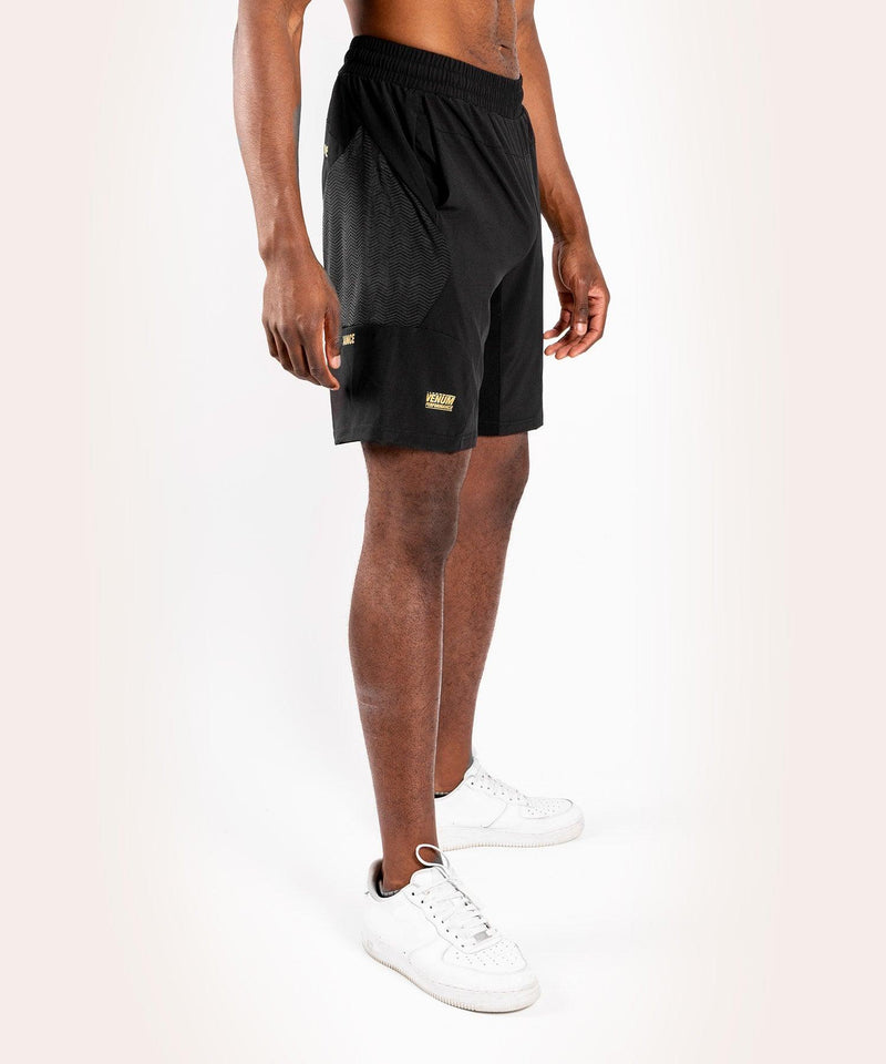 Venum G-Fit Training Shorts – Black/Gold picture 4