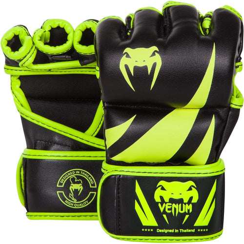 Venum Challenger MMA Gloves - Neo Yellow/Black picture 1