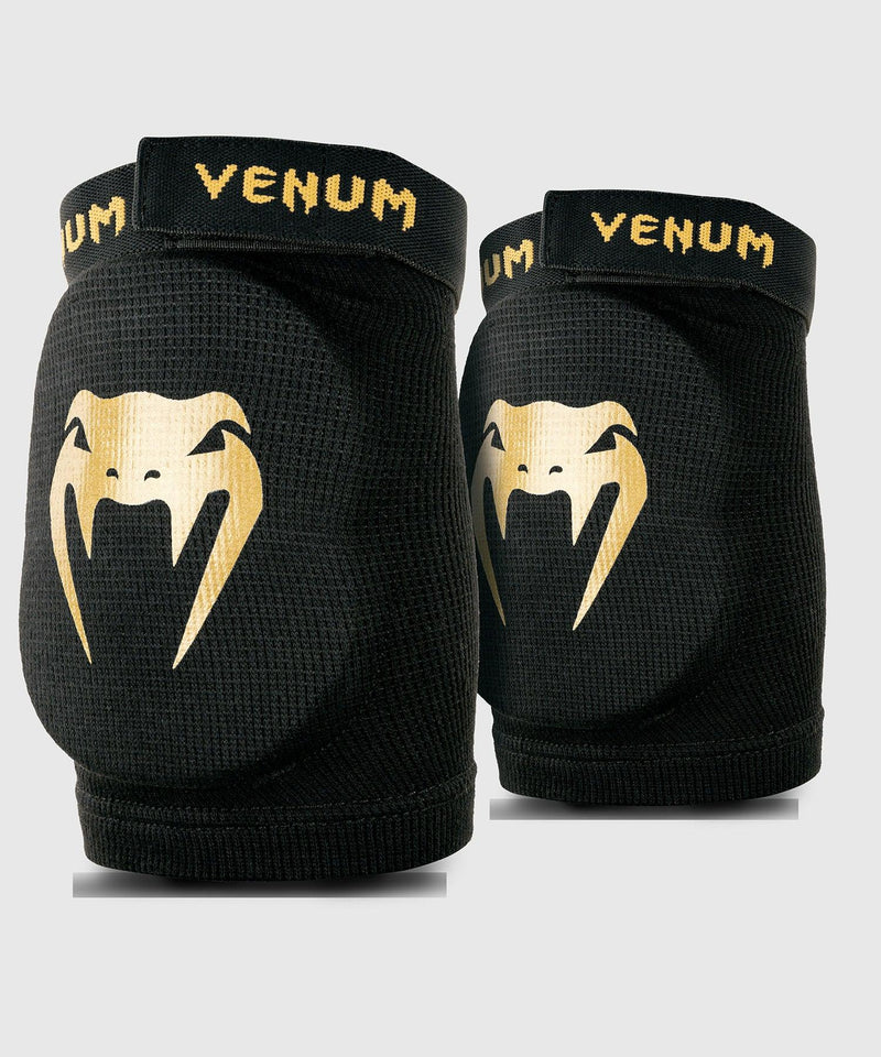 Venum Kontact Elbow Protector - Black/Gold picture 1
