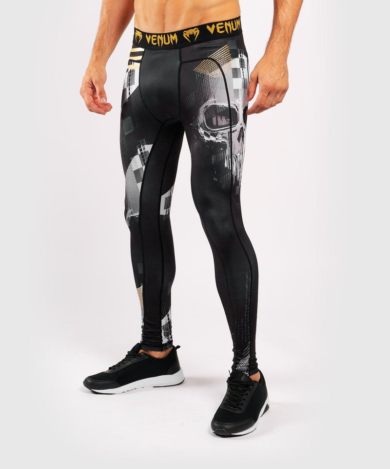 Venum Skull Tights - Black picture 3