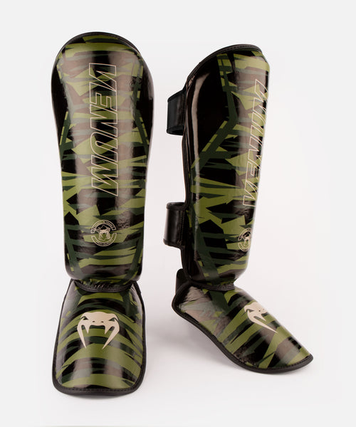 Venum Contender 2.0 Shin Guards - Khaki camo picture 1