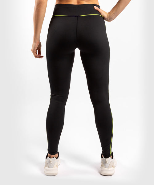Venum Tecmo Leggings - For Women - Black/Neo Yellow - picture 2