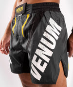 Venum ONE FC Impact Fightshorts - Grey/Yellow - picture 6