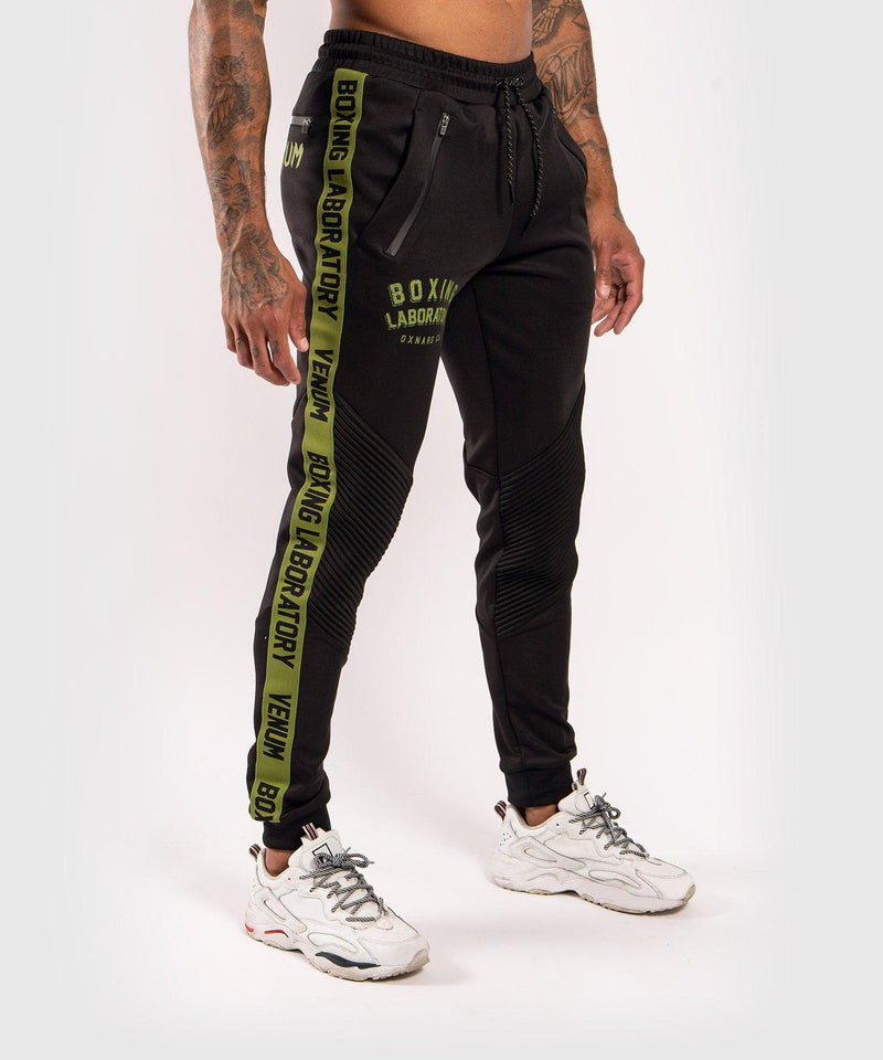 Venum Boxing Lab Joggers - Black/Green picture 3