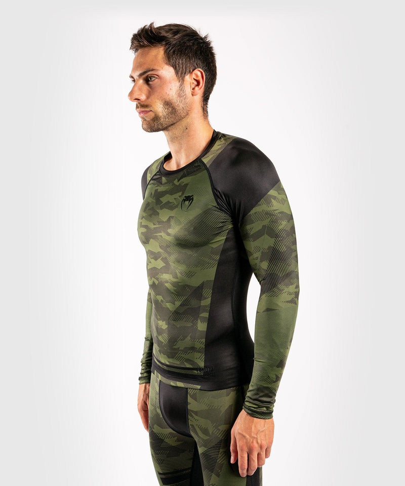 Venum Trooper Rashguard - Long sleeves - Forest camo/Black picture 2