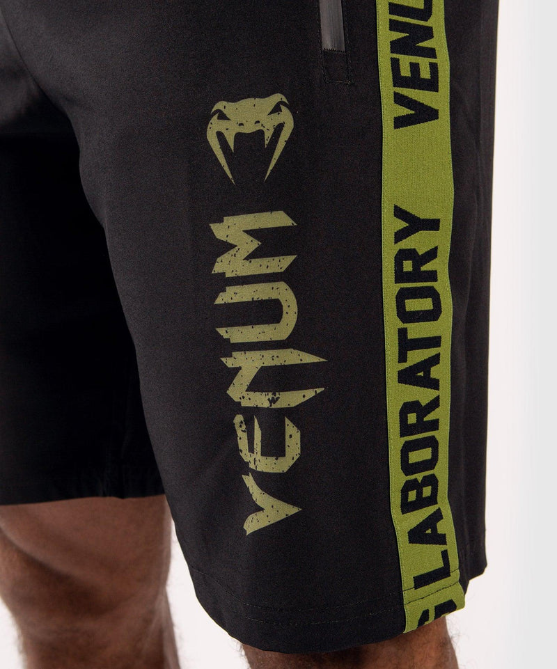 Venum Boxing Lab Fightshorts - Black/Green picture 6