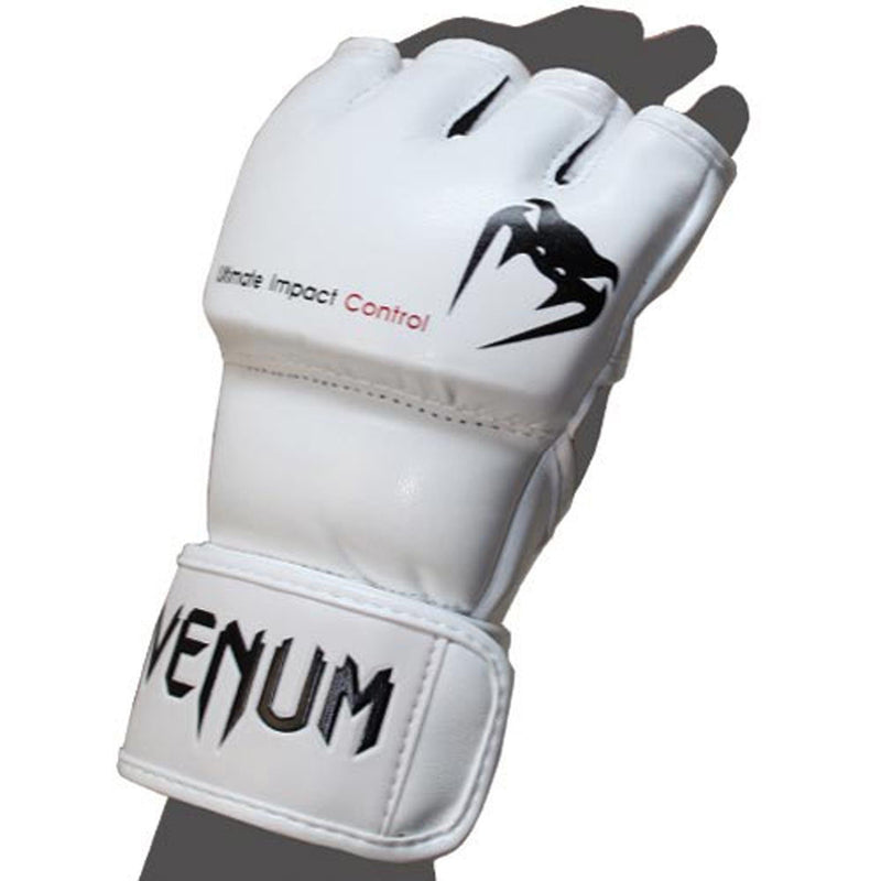 Venum Impact MMA Gloves - Skintex Leather – White picture 5
