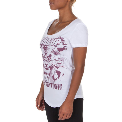 Venum Givin' T-shirt - White/Light Lilac picture 2