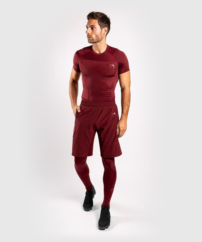 Venum G-Fit Compresssion Tights - Burgundy picture 5