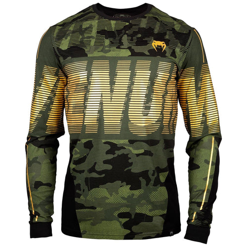 Venum Tactical T-shirt - Long Sleeves - Forest camo/Black picture 1