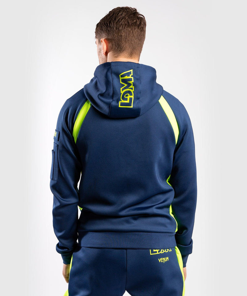 Venum Origins Hoodie Loma Edition Blue/Yellow picture 6