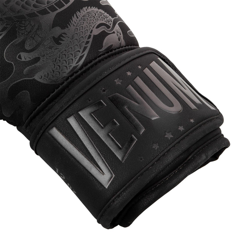 Venum Dragon's Flight Boxing Gloves – Black/Black picture 5