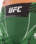 UFC Venum Authentic Fight Night Women's Shorts - Long Fit – Green Picture 5