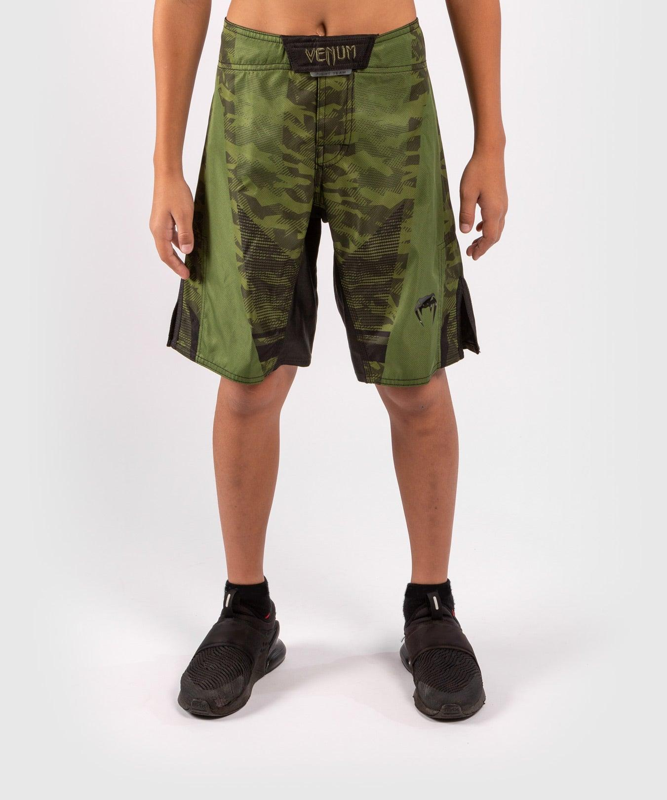 Venum Trooper Kids Fightshorts - Forest camo/Black picture 1