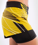 UFC Venum Authentic Fight Night Women's Shorts - Short Fit – Yellow Picture 7