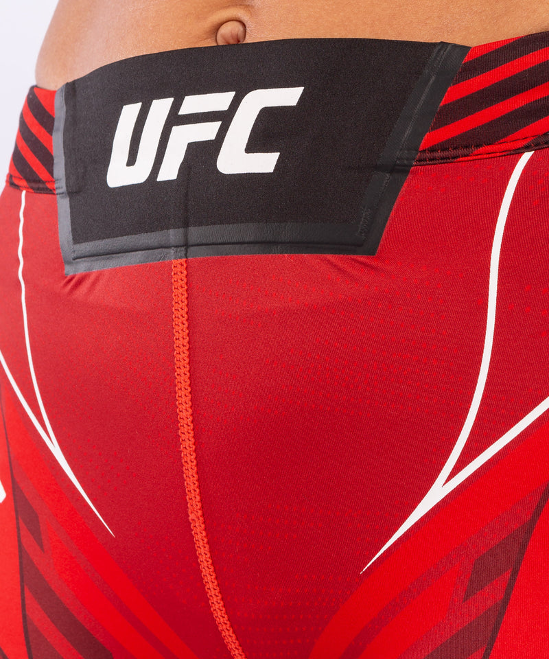 UFC Venum Authentic Fight Night Women's Vale Tudo Shorts - Short Fit – Red Picture 5