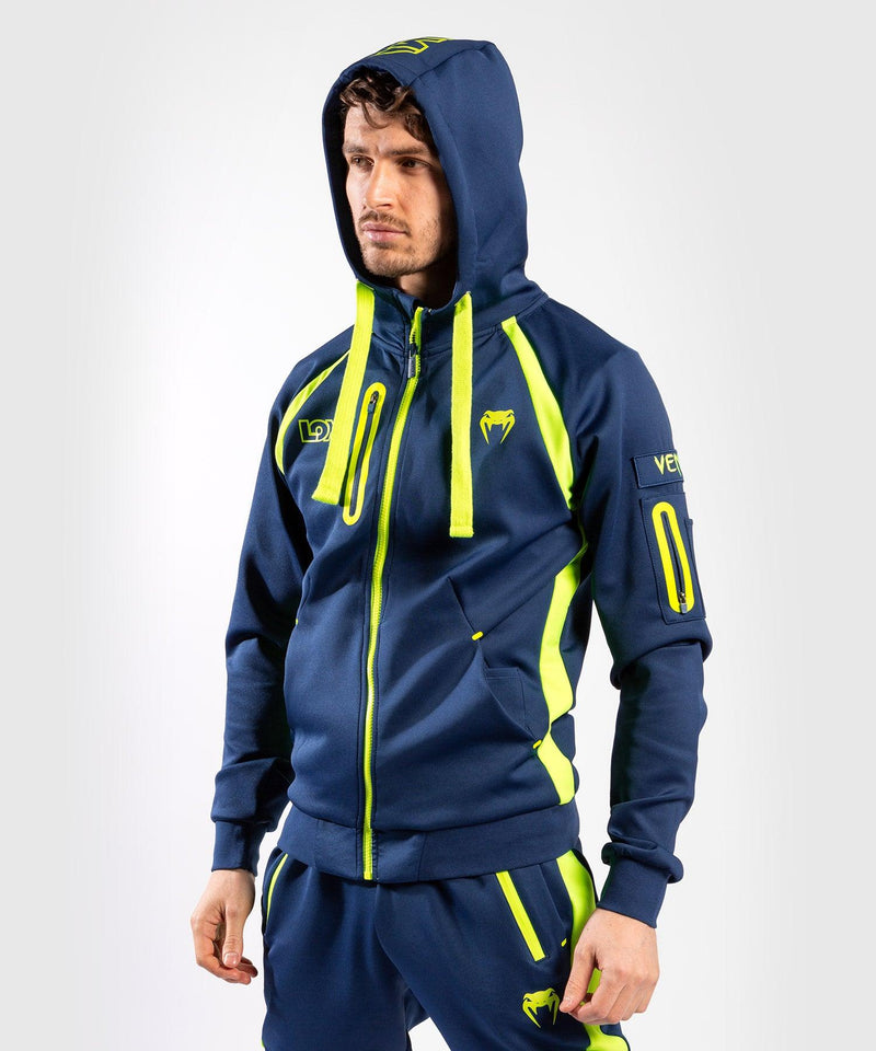 Venum Origins Hoodie Loma Edition Blue/Yellow picture 4