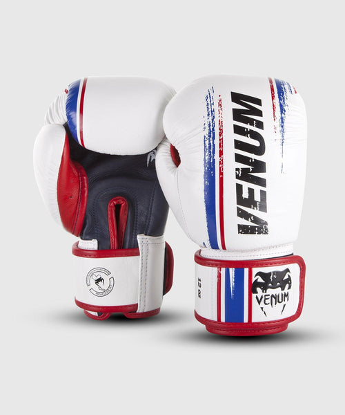 Venum Bangkok Spirit Boxing Gloves - Nappa leather - White picture 2