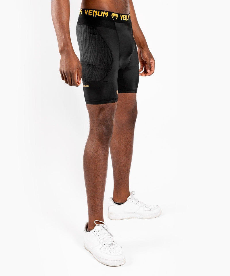 Venum G-Fit Compression Shorts – Black/Gold picture 4