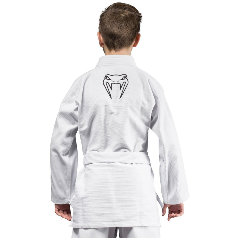 Venum Contender Kids BJJ Gi (Free white belt included) - White picture 2