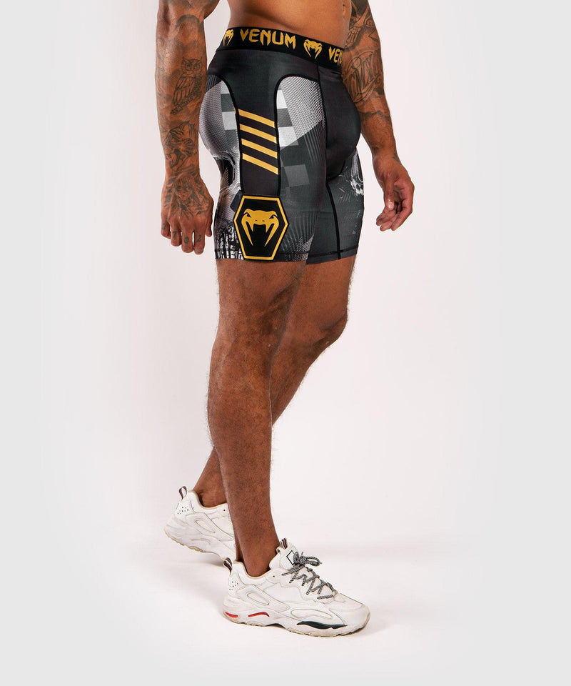 Venum Skull compression shorts - Black picture 3