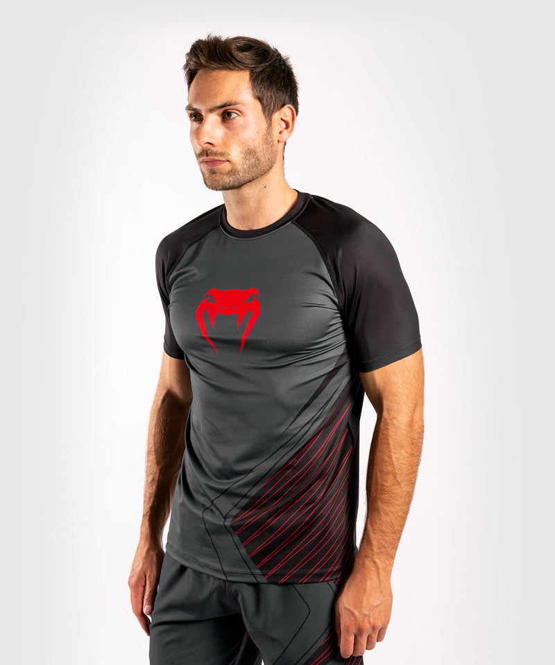Venum Contender 5.0 Dry-Tech T-shirt – Black/Red picture 3