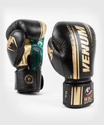 Venum WBC Muay Thai Boxing Gloves - Black/Green - Picture 2