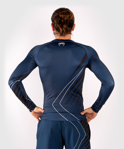 Venum Contender 5.0 Rashguard - Long sleeves - Navy/Sand picture 2