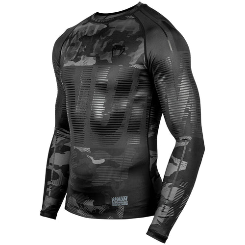 Venum Tactical Rashguard - Long Sleeves - Urban Camo/Black/Black picture 2