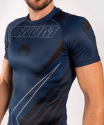 Venum Contender 5.0 Rashguard - Short sleeves - Navy/Sand picture 6