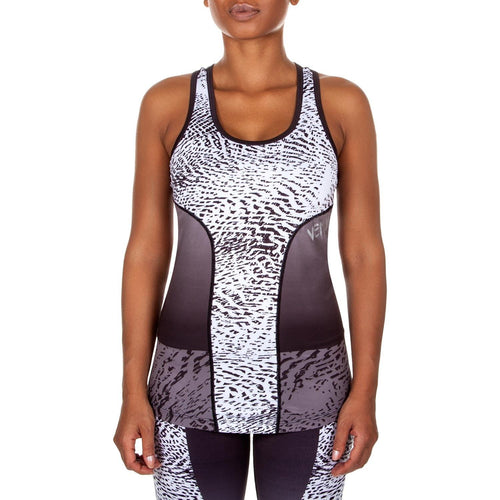 Venum Dune Tank Top – Black/White picture 1